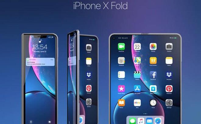 Chiêm ngưỡng iPhone màn hình gập với thiết kế đẹp khó cưỡng