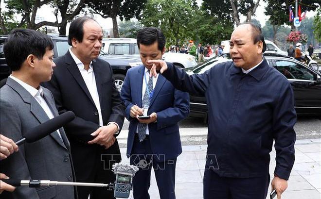 Thủ tướng trực tiếp thị sát công tác chuẩn bị hội nghị thượng đỉnh Mỹ - Triều