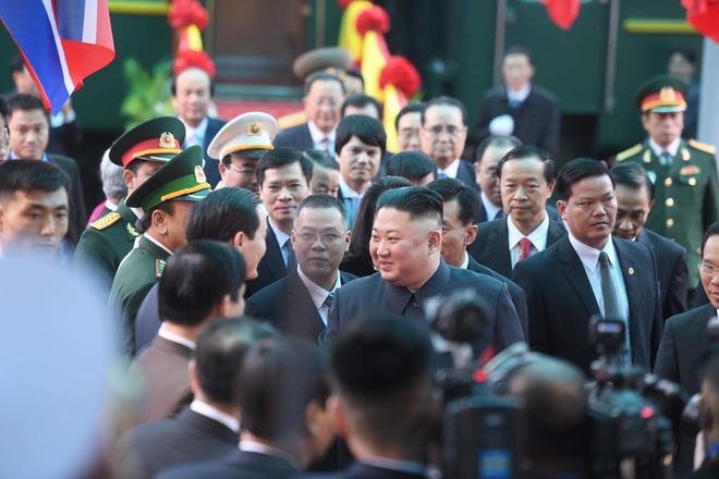 [ẢNH] Toàn cảnh buổi tiếp đón nhà lãnh đạo Triều Tiên Kim Jong Un tại ga Đồng Đăng - Ảnh 13.