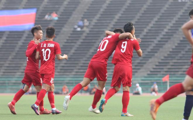U22 Việt Nam 1-0 U22 Campuchia: Lê Xuân Tú là người hùng trận đấu