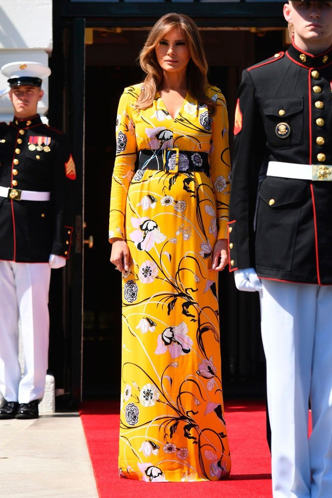Vẻ đẹp nóng bỏng của vợ Tổng thống Donald Trump, đệ nhất phu nhân thời thượng bậc nhất nước Mỹ - Ảnh 18.