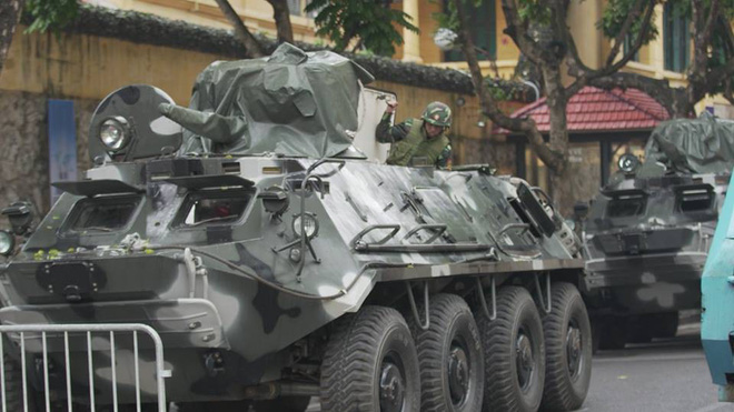 Lực lượng xe thiết giáp uy lực và hùng hậu nhất của Quân đội Việt Nam bảo vệ chủ tịch Kim Jong Un - Ảnh 2.