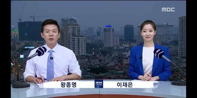 Nữ MC Hàn xinh đẹp tác nghiệp trên nóc khách sạn Daewoo gây sốt Việt Nam nổi tiếng ra sao? - Ảnh 2.