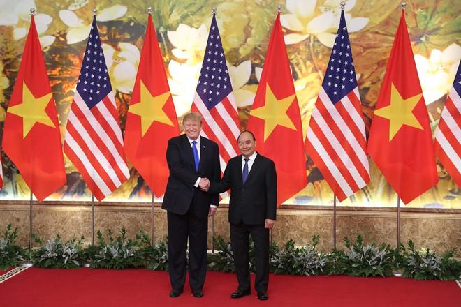 [ẢNH] Toàn cảnh cuộc hội đàm của Tổng thống Mỹ Donald Trump và Tổng Bí thư, Chủ tịch nước Nguyễn Phú Trọng - Ảnh 23.