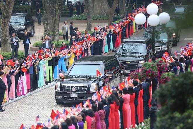 [ẢNH] Toàn cảnh cuộc hội đàm của Tổng thống Mỹ Donald Trump và Tổng Bí thư, Chủ tịch nước Nguyễn Phú Trọng - Ảnh 22.