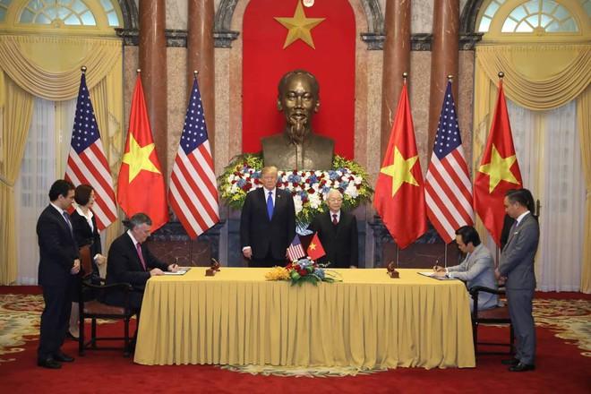 [ẢNH] Toàn cảnh cuộc hội đàm của Tổng thống Mỹ Donald Trump và Tổng Bí thư, Chủ tịch nước Nguyễn Phú Trọng - Ảnh 20.