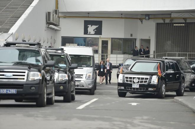 [ẢNH] Toàn cảnh cuộc hội đàm của Tổng thống Mỹ Donald Trump và Tổng Bí thư, Chủ tịch nước Nguyễn Phú Trọng - Ảnh 1.