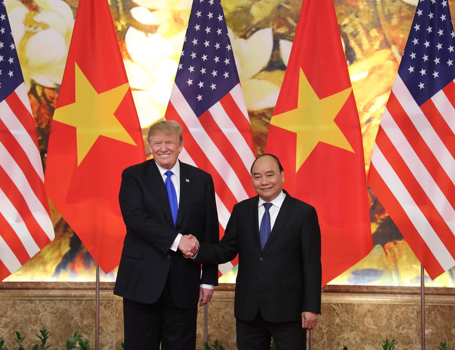 [ẢNH] Toàn cảnh cuộc hội đàm của Tổng thống Mỹ Donald Trump và Tổng Bí thư, Chủ tịch nước Nguyễn Phú Trọng - Ảnh 24.