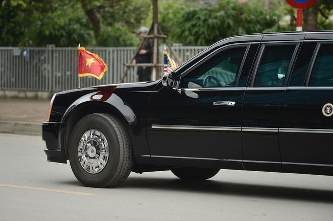 [ẢNH] Toàn cảnh cuộc hội đàm của Tổng thống Mỹ Donald Trump và Tổng Bí thư, Chủ tịch nước Nguyễn Phú Trọng - Ảnh 4.