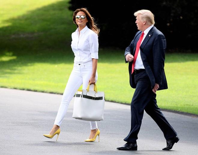 4 bí quyết để xinh đẹp, khỏe mạnh và trẻ hơn tuổi của Đệ nhất phu nhân Mỹ Melania Trump - Ảnh 4.