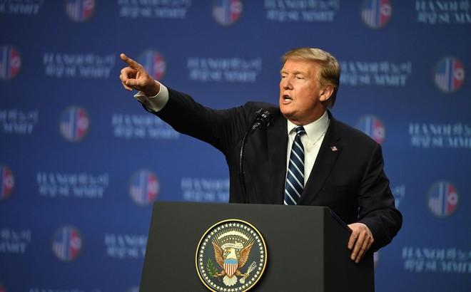 """Họp báo hậu thượng đỉnh: TT Trump tiết lộ lí do khiến cuộc đàm phán với Chủ tịch Kim """"không đạt kết quả"""""""