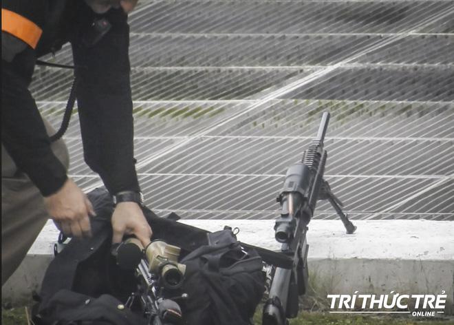 Mật vụ Mỹ bảo vệ TT Trump show súng mới và đỉnh nhất tại Hà Nội: Hàng vừa ra lò và khá bí mật! - Ảnh 5.