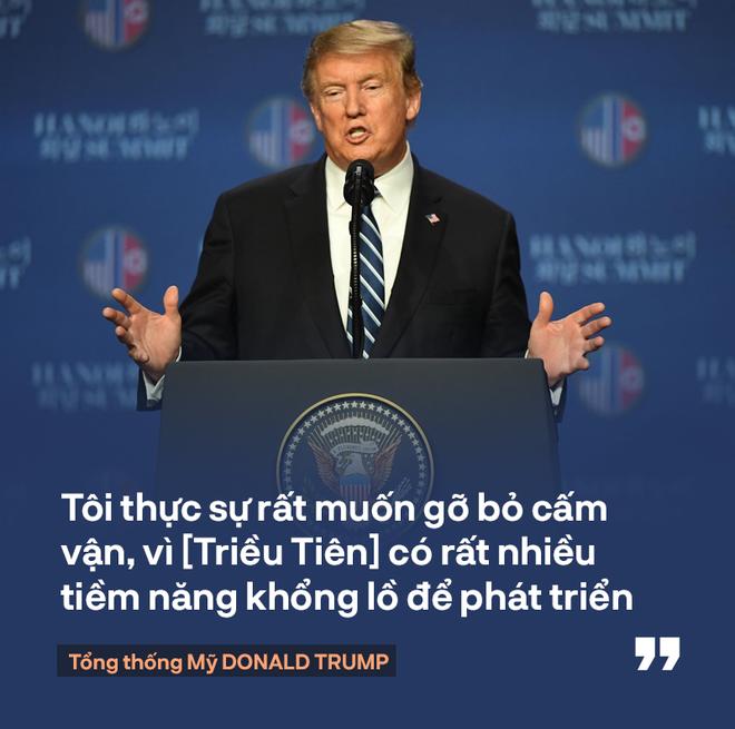 Tổng thống Trump: Mối quan hệ Mỹ - Triều Tiên rất mạnh mẽ, nhưng đôi lúc bạn phải học cách bỏ qua - Ảnh 4.