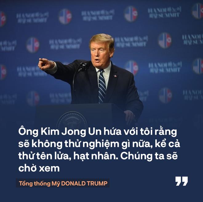 Tổng thống Trump: Mối quan hệ Mỹ - Triều Tiên rất mạnh mẽ, nhưng đôi lúc bạn phải học cách bỏ qua - Ảnh 8.