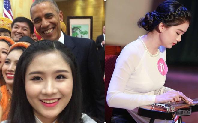 Nữ sinh Việt biểu diễn đàn cho cựu tổng thống Mỹ: Nhớ như in câu nói của ngài Obama lúc bắt tay!