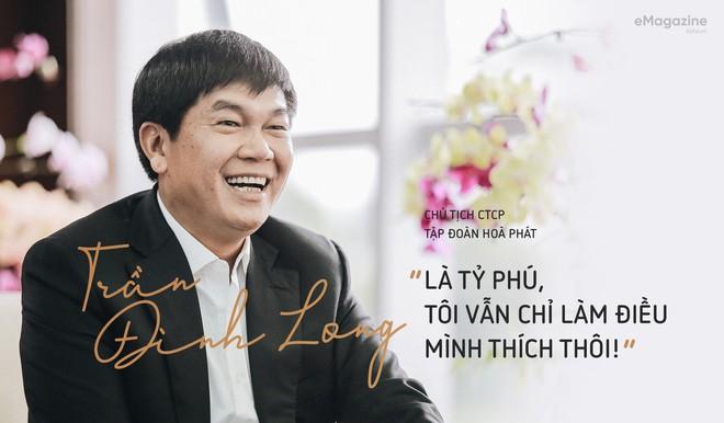 Trở lại danh sách người giàu nhưng tài sản của ông Trần Đình Long sụt giảm mạnh - Ảnh 1.