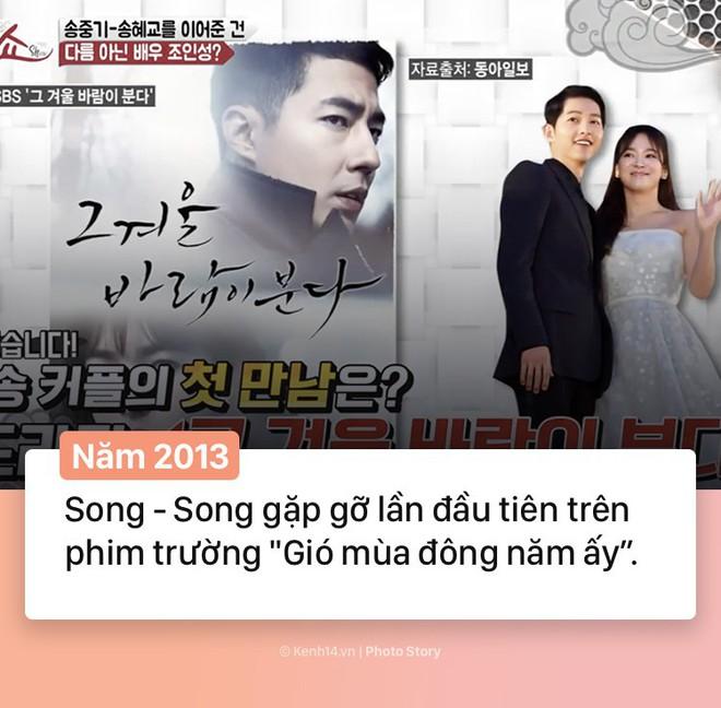Hành trình 2 năm hôn nhân Song Joong Ki và Song Hye Kyo: Từ cuộc tình thế kỷ trong mơ đến ồn ào chấn động cả châu Á - Ảnh 1.