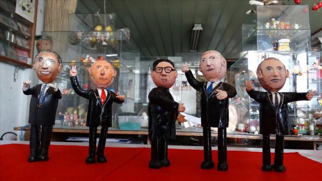 Thầy giáo tạo hình lãnh đạo Donald Trump và Kim Jong-un bằng vỏ trứng  - Ảnh 5.