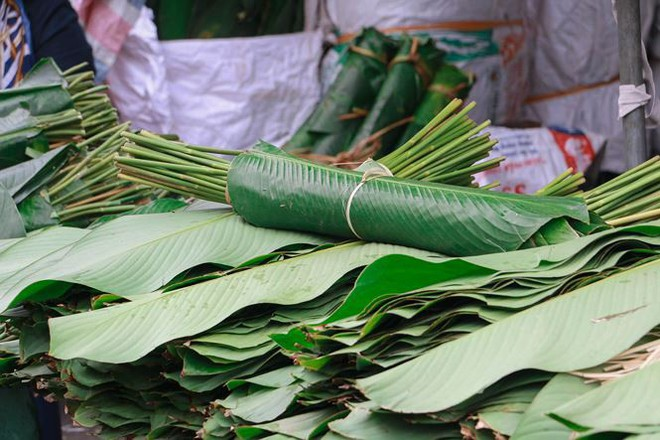 Chợ lá dong lâu đời nhất Thủ đô đìu hiu ngày cận Tết - Ảnh 11.