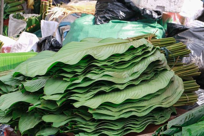 Chợ lá dong lâu đời nhất Thủ đô đìu hiu ngày cận Tết - Ảnh 3.