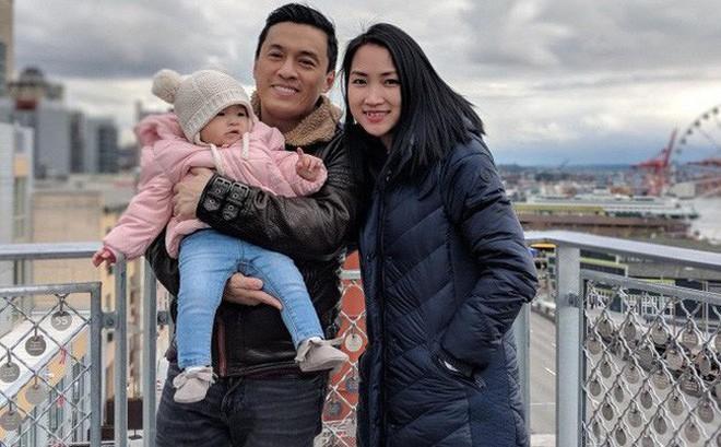 Khác hẳn tâm trạng cô đơn bên xứ người, vừa về Việt Nam vợ Lam Trường đã hào hứng thế này