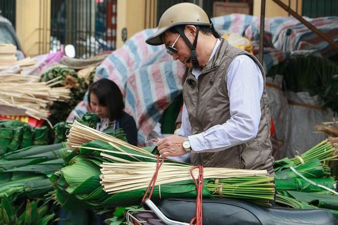 Chợ lá dong lâu đời nhất Thủ đô đìu hiu ngày cận Tết - Ảnh 9.