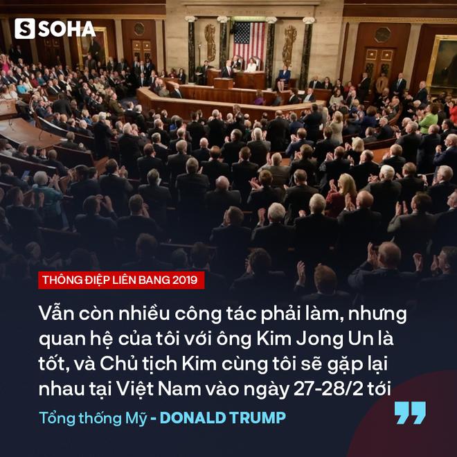 """TT Trump kêu gọi """"đoàn kết, hợp tác"""" trong TĐLB, cho biết sẽ gặp ông Kim Jong-un tại Việt Nam - Ảnh 13."""