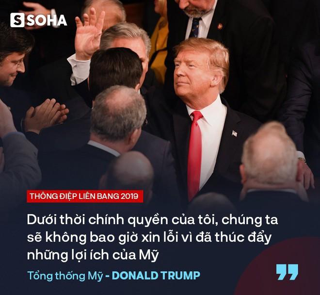 """TT Trump kêu gọi """"đoàn kết, hợp tác"""" trong TĐLB, cho biết sẽ gặp ông Kim Jong-un tại Việt Nam - Ảnh 12."""