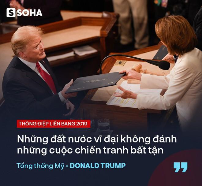 """TT Trump kêu gọi """"đoàn kết, hợp tác"""" trong TĐLB, cho biết sẽ gặp ông Kim Jong-un tại Việt Nam - Ảnh 15."""
