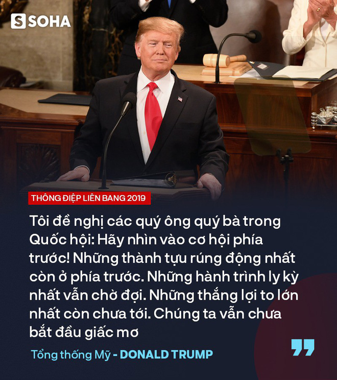 """TT Trump kêu gọi """"đoàn kết, hợp tác"""" trong TĐLB, cho biết sẽ gặp ông Kim Jong-un tại Việt Nam - Ảnh 16."""