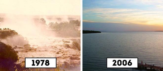 Kinh ngạc sự biến hình của 10 điểm du lịch nổi tiếng thế giới - Ảnh 3.