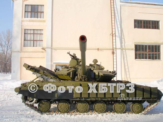 Ukraine nâng cấp xe tăng T-64 bằng tháp pháo của T-55: Cải tiến kiểu... thụt lùi? - Ảnh 3.