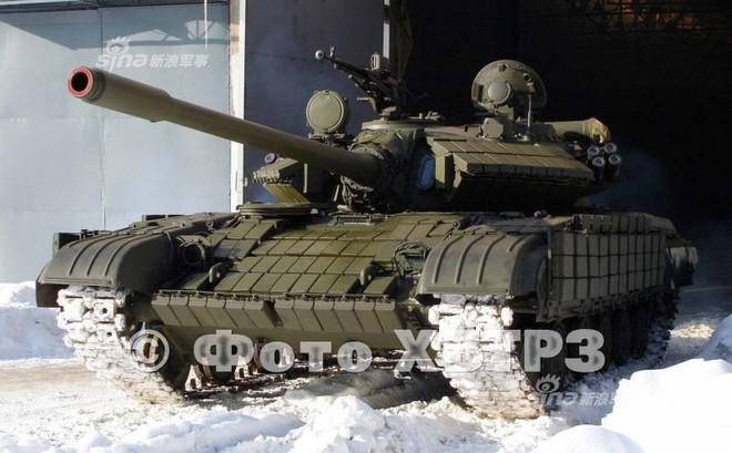 """Ukraine """"nâng cấp"""" xe tăng T-64 bằng tháp pháo của T-55: Cải tiến kiểu... thụt lùi?"""