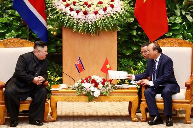 Toàn cảnh Lễ đón Chủ tịch Triều Tiên Kim Jong Un thăm chính thức Việt Nam - Ảnh 12.