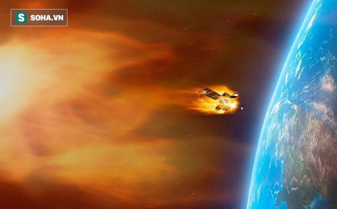 """Tàu vũ trụ Liên Xô 1,1 tấn sắp """"xuyên thủng"""" khí quyển, rơi mất kiểm soát xuống Trái Đất"""