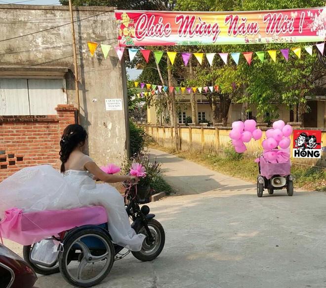 Đám cưới được nhắc nhiều nhất ngày Chủ nhật: Cặp đôi cùng xe đón dâu đặc biệt gây xúc động - Ảnh 4.