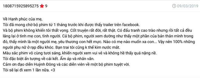 Phản ứng của khán giả về phim bị tẩy chay của Cát Phượng - Kiều Minh Tuấn sau 2 ngày ra rạp - Ảnh 2.