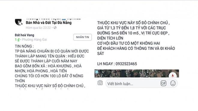 Môi giới tung hoành, Đà Nẵng và Quảng Nam loạn giá đất - Ảnh 4.