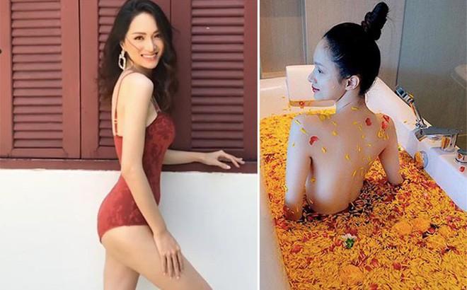 Hương Giang tung ảnh khoe lưng trần quyến rũ