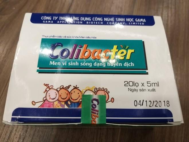 Men tiêu hóa Colibacter có dị vật, doanh nghiệp nói không trực tiếp bán ra thị trường - Ảnh 1.