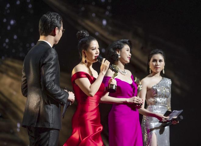 Hoa hậu Đinh Hiền Anh và Hà Kiều Anh đoạt giải Nữ hoàng Đêm hội chân dài - Ảnh 3.