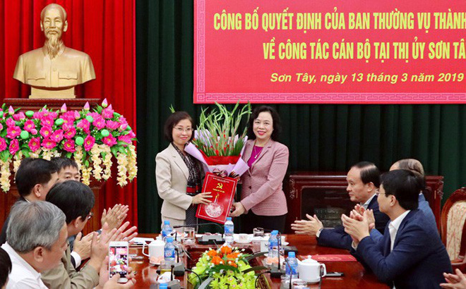 Công bố quyết định nhân sự của Ban Thường vụ Thành ủy Hà Nội