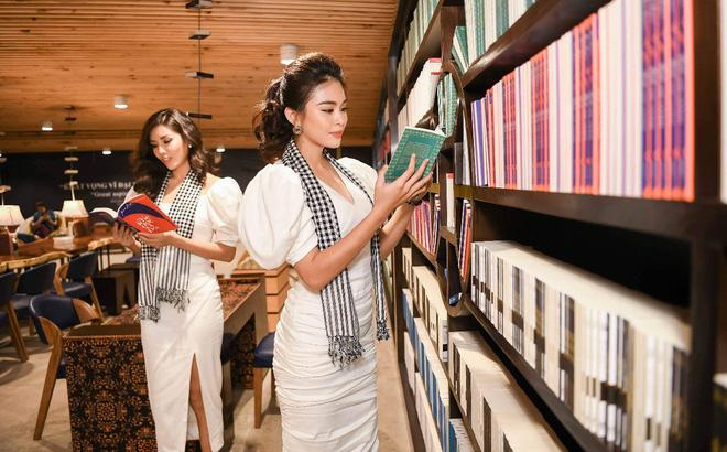 """Á hậu Mâu Thủy: """"Khuyến học là cuốn sách các bạn trẻ nên đọc"""""""
