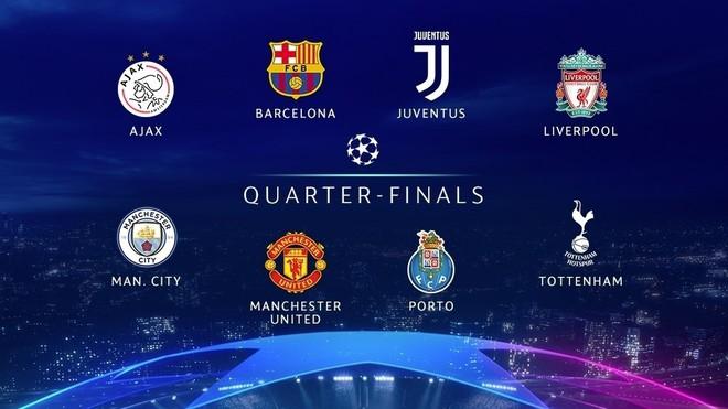 Danh sách 8 đội lọt vào tứ kết Champions League: Premier League nở mày nở mặt sau 10 năm - Ảnh 2.