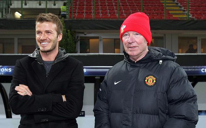 """David Beckham, Solskjaer sẽ """"về dưới trướng"""" Sir Alex để tái hiện Cú ăn ba huyền thoại"""