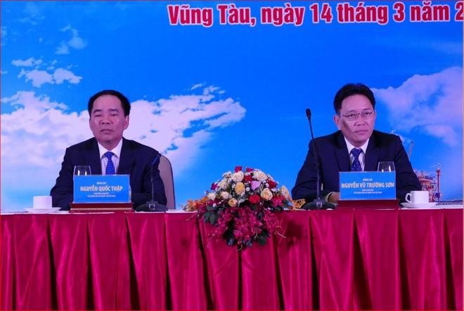 Tổng Giám đốc Nguyễn Vũ Trường Sơn đang chủ trì Hội nghị thăm dò khai thác 2019 của PVN - Ảnh 1.