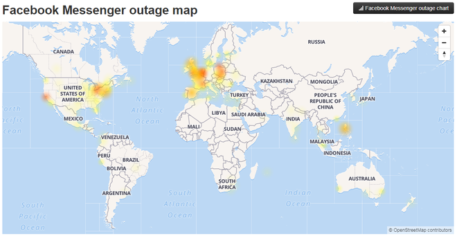 Facebook, Messenger và Instagram đồng loạt lỗi trên toàn cầu, mất kết nối và không gửi được ảnh - Ảnh 3.