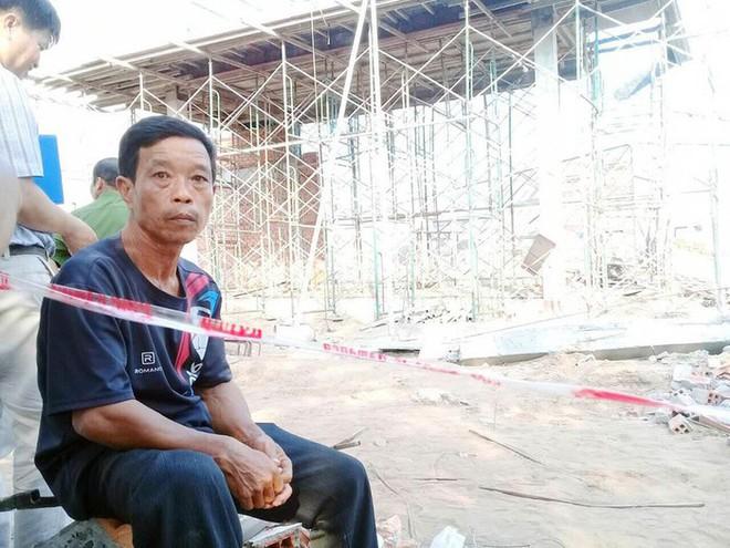 Hiện trường vụ sập tường làm 6 người chết ở Vĩnh Long - Ảnh 10.