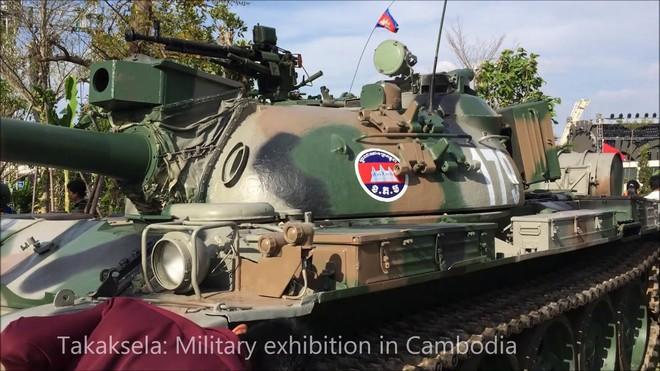Campuchia tung xe tăng tối tân tập trận lớn nhất trong lịch sử với Trung Quốc - Ảnh 2.