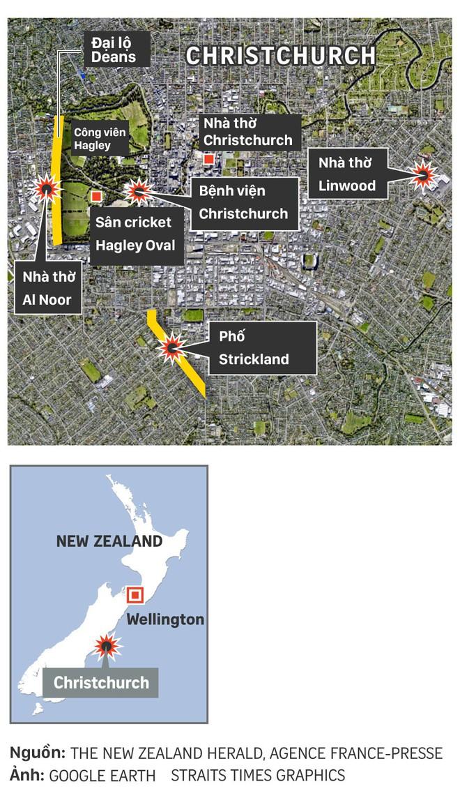 Xuất hiện clip vụ xả súng ở New Zealand khiến 49 người chết: Nghi phạm vừa nã đạn, vừa livestream - Ảnh 5.
